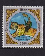 Laos 1998, Tiger, Minr 1621, Vfu - Laos