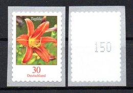 """Deutschland Mi. 3516 Nr. ** """"Freimarke Blumen: Taglilie"""" Selbstklebend Postfrisch - Neufs"""