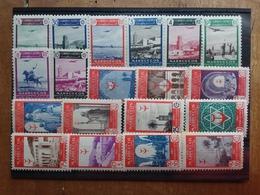 MAROCCO SPAGNOLO Anni '40/'50 - 19 Valori Differenti Nuovi ** (3 Valori Punti Di Ruggine) + Spese Postali - Marocco Spagnolo