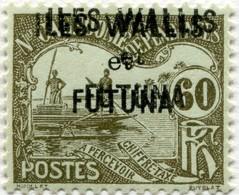 !!! PRIX FIXE : WALLIS & FUTUNA, TAXE N°7a AVEC DOUBLE SURCHARGE, NEUVE*. SIGNÉE CALVES - Postage Due