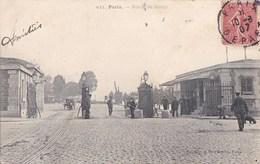 PARIS XII   PORTE De BERCY Animation Aux  Postes De DOUANE Gabelous 1907 - Arrondissement: 12