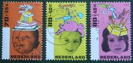 Kinderzegels Child Welfare Enfants Kinder NVPH 1698-1700 (Mi 1596-1598) 1996 Gestempeld / USED NEDERLAND / NIEDERLANDE - 1980-... (Beatrix)