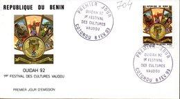 Benin 0704 Fdc Culte Vaudou, Musique, Danse, Les Revenants, Ouidah, Dangbé - Unclassified