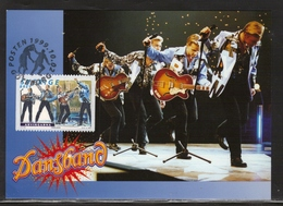 MUSIC MUSIQUE MUSIK BIG BANDS TANZKAPELLEN ARVINGARNA SWEDEN SUEDE SCHWEDEN 1999 MI 2144 FDC MAXIMUM MAXI CARD SLANIA - Musik