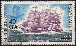 """Réunion Obl. N° 395 - Voilier """"Cap Hornier Antoinette"""" - Réunion (1852-1975)"""