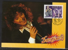 MUSIC MUSIQUE MUSIK BIG BANDS TANZKAPELLEN LOTTA ENGBERGS SWEDEN SUEDE SCHWEDEN 1999 MI 2145 FDC MAXIMUM MAXI CARD - Musik