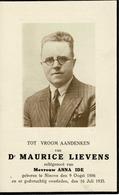 Doodsprentje (8010) Ninove - LIEVENS / IDE 1886 - 1935 - Devotion Images