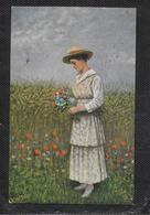 AK 0397  Witt , R. De - Ein Feldstrauß / Künstlerkarte Um 1917 - Peintures & Tableaux