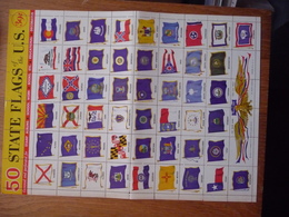 (2) US 50 STATE FLAGS OF THE US. SEE SCAN. - Autres
