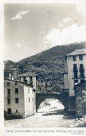 9C... VALLS D'ANDORRA- Les Escaldes. Paisatge Del Riu Valira (cpsm Grand Format) - Andorre