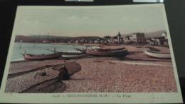 CPA - 10456. CROS DE CAGNES - La Plage - Cagnes-sur-Mer