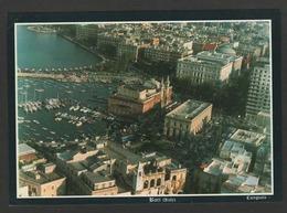 Italie - BARI - Il PORTO Dall' Aereo - Vue Aérienne De La Ville Et Du Port - Bari