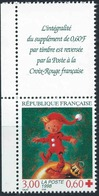 FRANCE 1998 CROIX ROUGE. Yvert N° 3199 Avec Logo Attenant Issu Du Carnet. (** Neuf Sans Charnière. MNH) - France