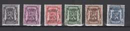 Série N° 6. Pre 363/68 *, MH. Cote 2018 : 6,75 € - Typo Precancels 1936-51 (Small Seal Of The State)