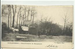 CP.Bruxelles-Schaerbeek (ex-Collection DELOOSE) -  Blanchisserie De Monplaisir + Cahrette à Cheval - W0088 - Brussel (Stad)