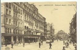 CP.Bruxelles-Schaerbeek (ex-Collection DELOOSE) -  Bruxelles Boulevard Anspach Grand Hôtel + Tram - W0089 - Bruxelles-ville