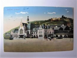DEUTSCHLAND - RHEINLAND-PFALZ - KOBLENZ - Bahnhof - 1913 - Koblenz