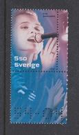 SWEDISH  POP ROCK STARS MUSIC - EVA DAHLGREN -  SWEDEN 2004 MNH Guitar - Musik