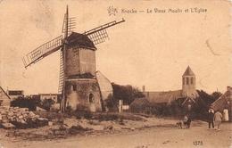 Le Vieux Moulin Et L'Eglise -  Knocke- Knokke - Knokke