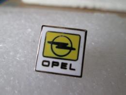 PIN'S    LOGO   OPEL  Email Grand Feu - Opel