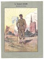 Protège Cahier - Général LECLERC, Illust.P.A.Leroux - Général Leclerc Sur La Route De Berchtesgaden, Militaria - Book Covers