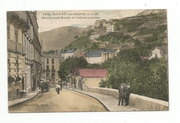 63 - ROYAT-LES-BAINS - Boulevard Bazin Et L'Observatoire - - Royat