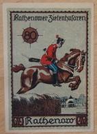 Allemagne Notgeld Rathenow 80 Pfennig - [11] Local Banknote Issues