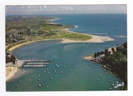56 GUIDEL Vue Aérienne Port Du Bas Pouldu Plage Estuaire De La Laïta En 1985 - Guidel