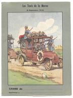 Protège Cahier - Les Taxis De La Marne, Voiture Chargée De Militaires, Militaria, Illust. P.A.Leroux - Book Covers
