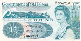 ST. HELENA , £5 , P11 UNC - St. Helena