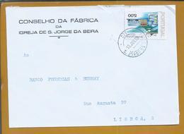 S. Jorge Da Beira. São Jorge Da Beira, Covilhã. Antiga Cebola. Carta Da Igreja De S. Jorge Da Beira De 1979.. - 1910 - ... Repubblica