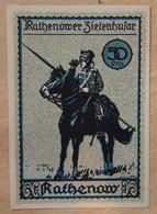 Allemagne Notgeld Rathenow 50 Pfennig - [11] Local Banknote Issues