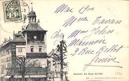 Genève - La Tour De L'Ile (Charnaux Frères & Cie, 1900) - GE Genf