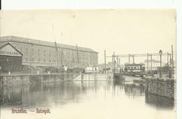 CP.Bruxelles-Schaerbeek (ex-Collection DELOOSE) -  Entrepôt Le Canal + Tram Sur Ecluse - W0094 - Brussel (Stad)