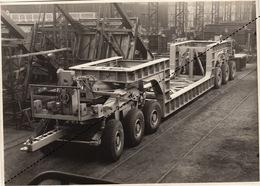 Photo Originale Remorque De Camion Pour Transporteur Jonet  Par Energie à Marcinelle - Otros