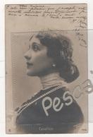 CP PORTRAIT ARTISTE ( LINA ) CAVALIERI - SOPRANO ITALIENNE - GERSCHEL PARIS N° 7476 - RPH - CIRCULEE EN 1903 - Artistas