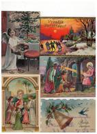 Vroolijk Kerstfeest  Joyeux Noël 50 Oude Postkaarten Meeste Geschreven En Gezegeld - Ansichtskarten