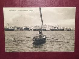 Cartolina Brindisi - Panorama Del Porto - 1914 - Brindisi