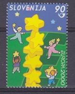 Europa Cept  2000 Slovenia 1v  ** Mnh (45694A) - 2000