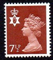 GB N. Ireland 1971 7½p Regional Machin, 2 Bands, MNH (SG23) - Northern Ireland