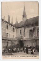 - CPA DOURDAN (91) - Soeurs De Saint-Paul De Chartres, Rue D'Authon 1925 (belle Animation) - - Dourdan