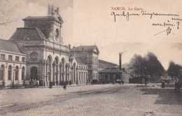 Namur - La Gare - Circulé En 1901 - Animée - TBE - Namur