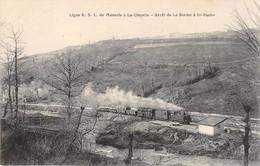 71 -   CPA Ligne R S L De Monsols à La CLAYETTE Arrêt De La Sodet à à St Racho RARE - Francia