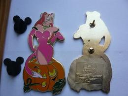 Big Pin S  DISNEY  JESSICA HALLOWEN  LE100 6,5 X 3 Cm Tbq - Disney