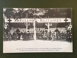Souvenir De La Fête Patriotique Donnée Le 26 Juillet 1908 Par La Société Française De Secours Aux Blessés... - Sedan