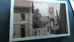 CPA Carolles Sortie D église - France