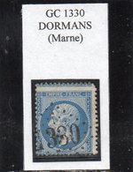 Marne - N° 22 Obl GC 1330 Dormans - 1862 Napoléon III