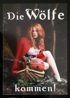 Wolf Sexy Female Carte Postale - Pin-Ups