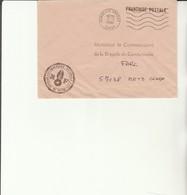 H 4 - Enveloppe Gendarmerie En Franchise   Avec Cachet BORDEAUX ARMEES - Marcofilie (Brieven)