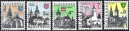 Slovakia 1994/95 -  Mi 206... - YT 170.. ( Slovak Churches ) - Gebraucht